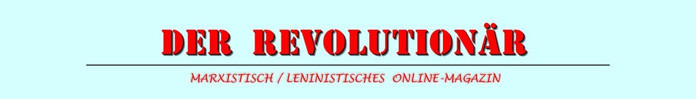 Der Revolutionär